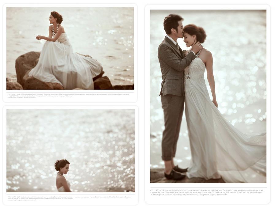欧式婚纱定妆图片