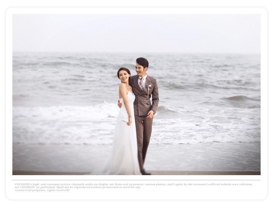 北戴河海景婚纱照