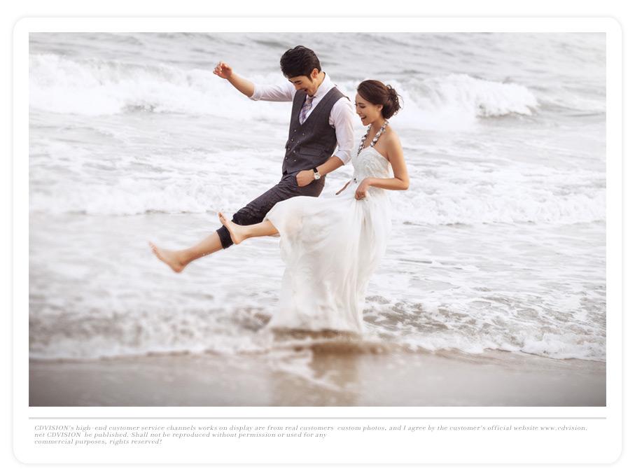 婚纱一套;   入户门厅婚纱照片墙设计图片   赠送限量版全新