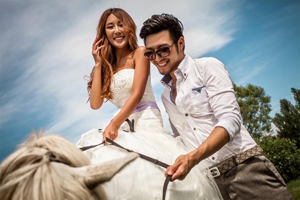 爱情海岸婚纱摄影a套系